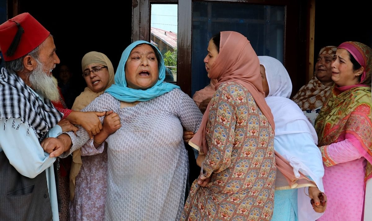 Family In Grief After Civilian Killed in Sopore Shootout