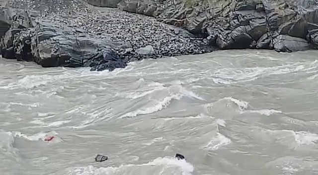 At least eight feared drowned after vehicle plunges into Chenab river in Ramban