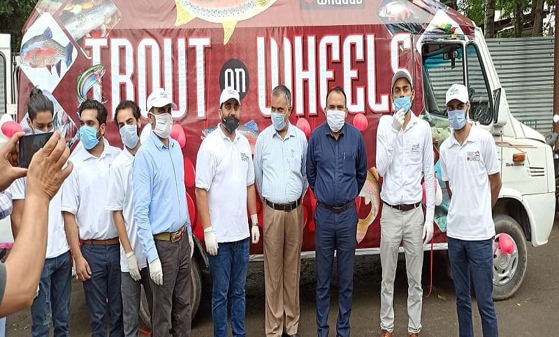 'Trout on Wheels' to promote Kashmir's Trout fish
