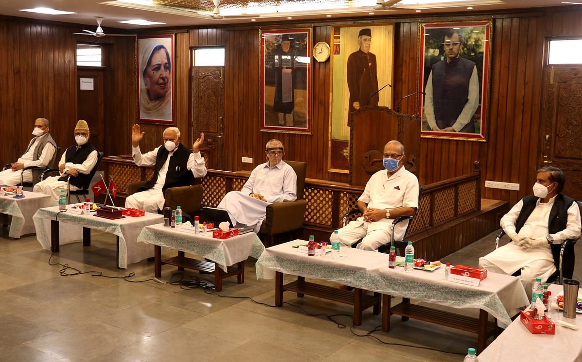 National Conference political affairs committee meets first time after revocation of J&K's special status