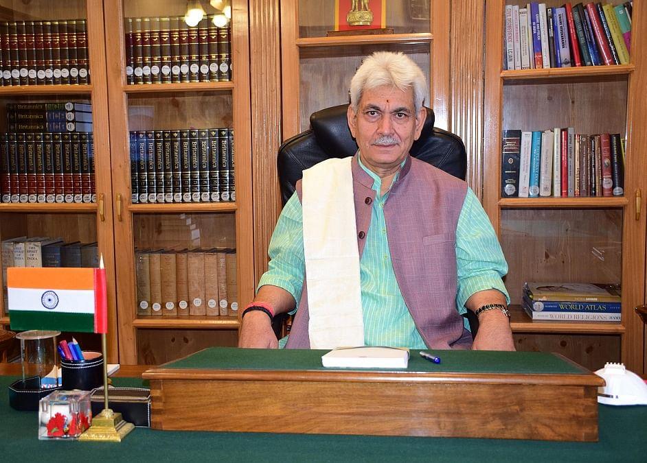 DAK, JKWP call on Lt Governor Manoj Sinha