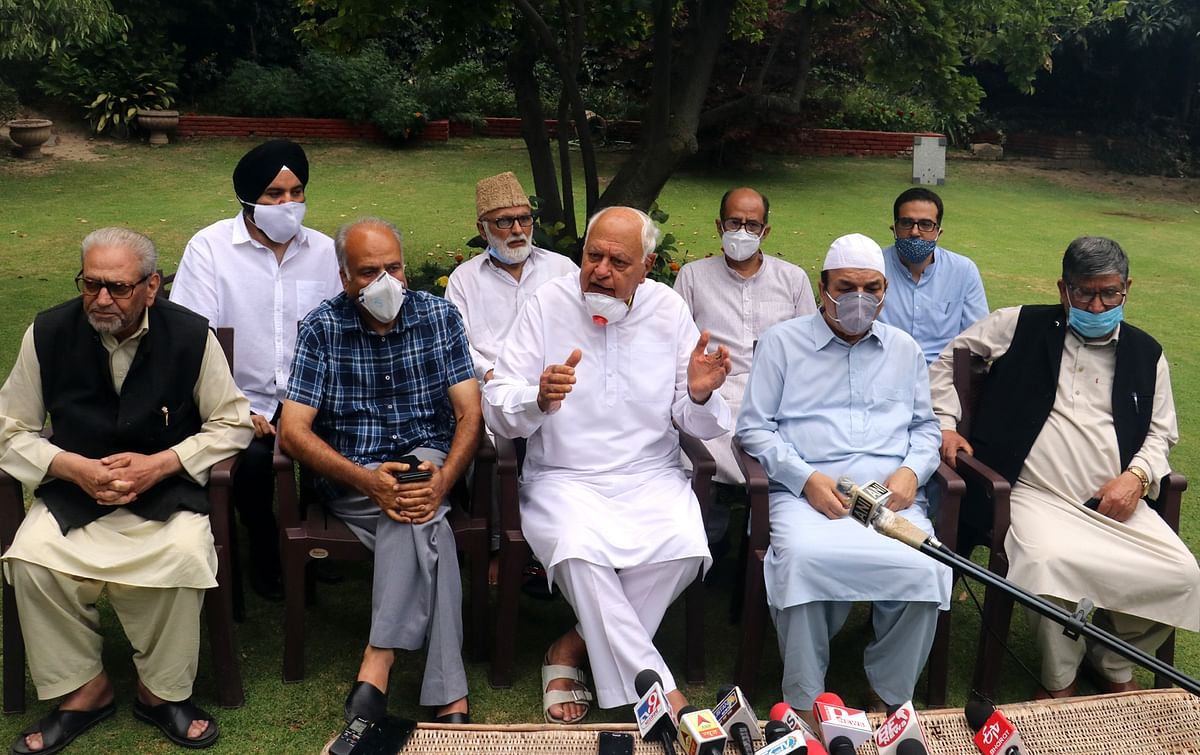 Gupkar declaration signatories issue joint statement: 'will strive for restoration of Article 370, 35 A'