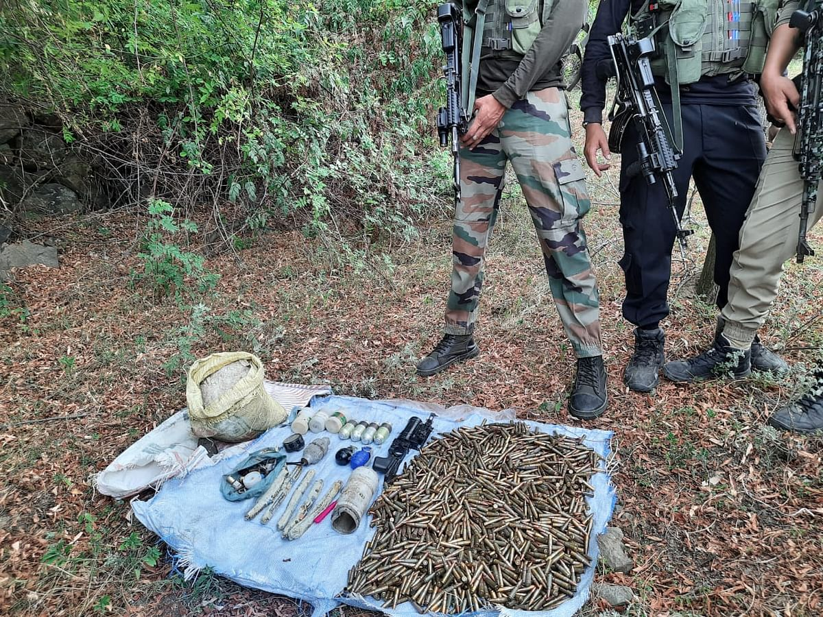 Arms, ammunition recovered in Teethwal: Police
