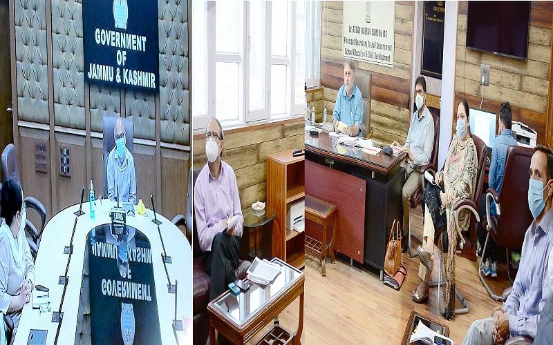Advisor Sharma reviews preparations for holding of NEP-2020 conferences