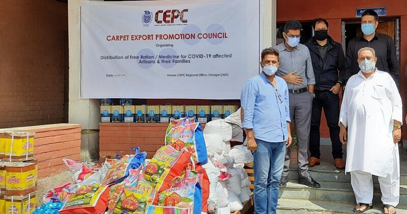 CEPC distributes medicines, relief among weavers, artisans