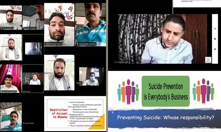 Webinar on World Suicide Prevention Day