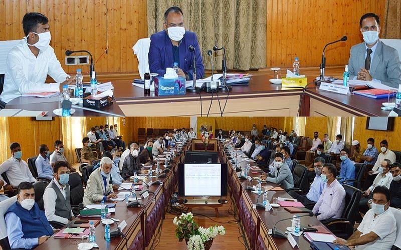 Div Com reviews south Kashmir's revenue matters