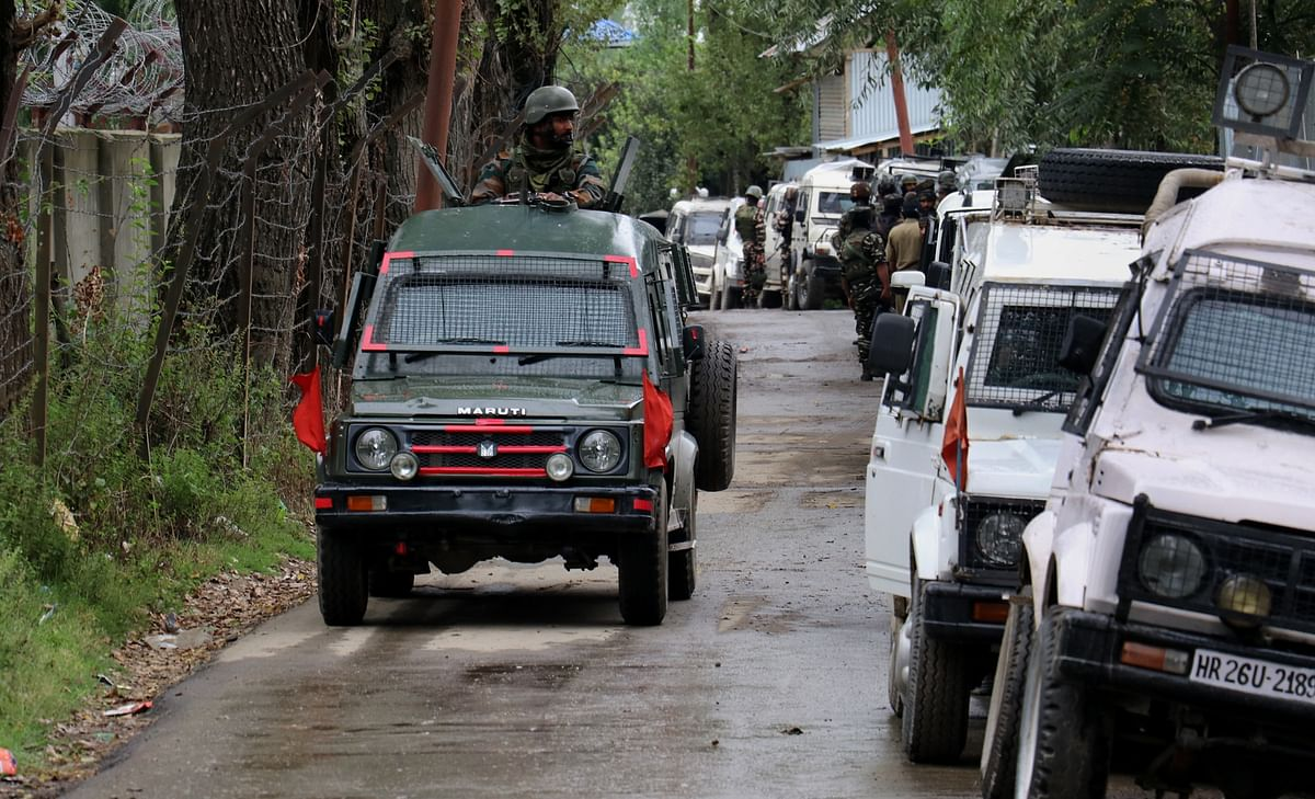 Three militants killed in gunfight with security forces in south Kashmir's Tral