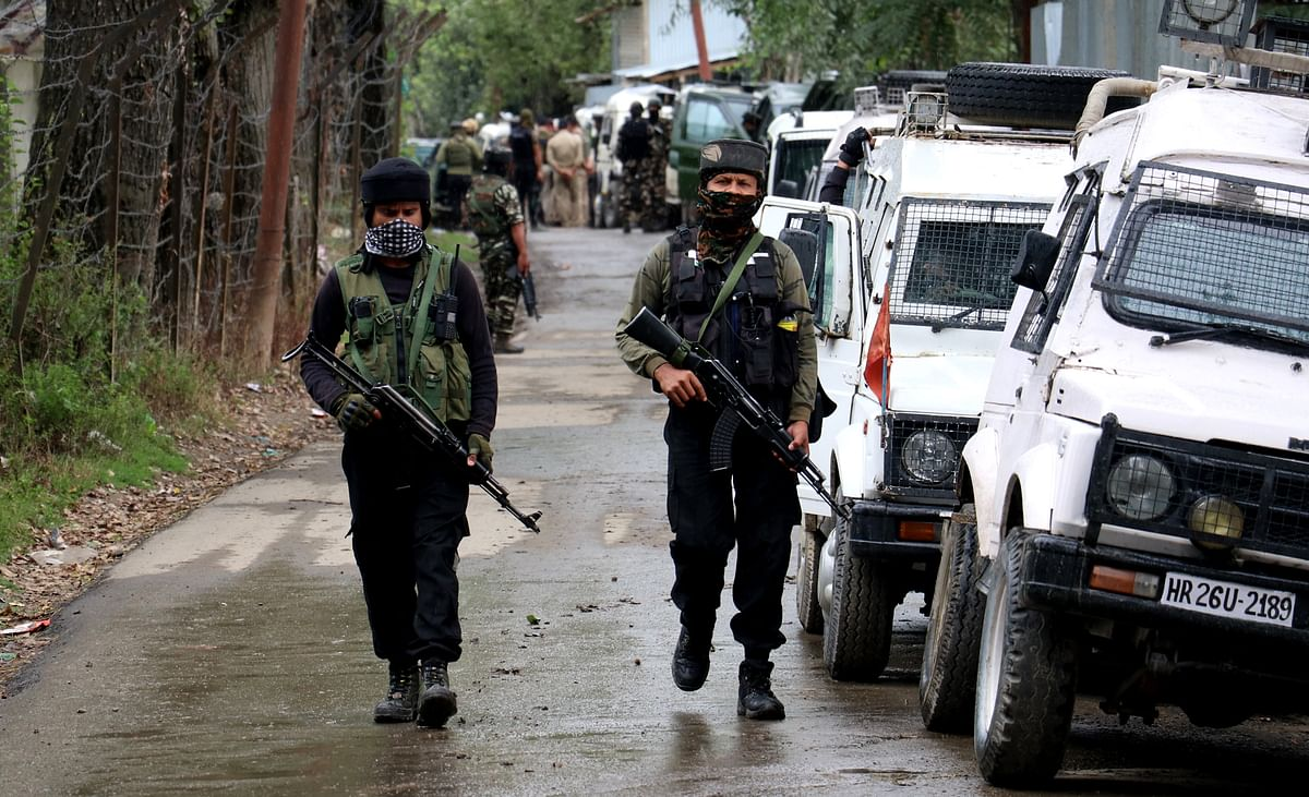 Two persons injured during CASO in Pulwama: Police