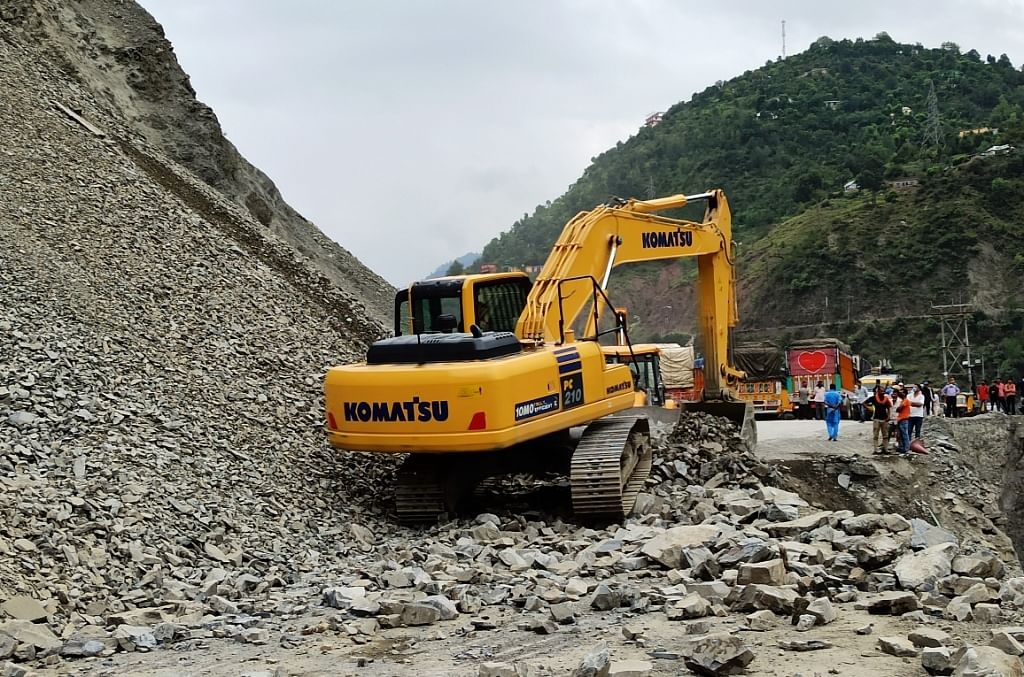 Worker dies after being hit by stone in under-construction railway tunnel in J&K's Ramban