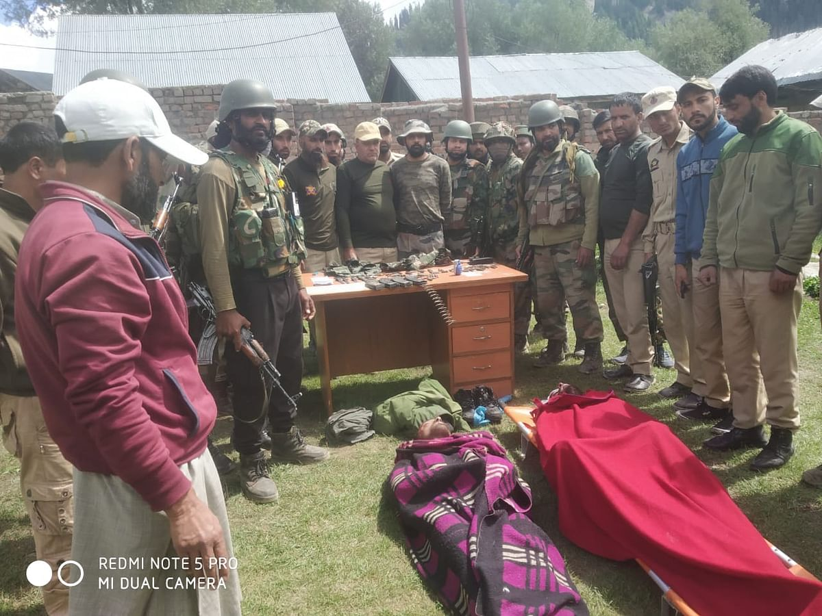 Bodies of two suspected militants recovered from Kishanganga river in north Kashmir's Gurez