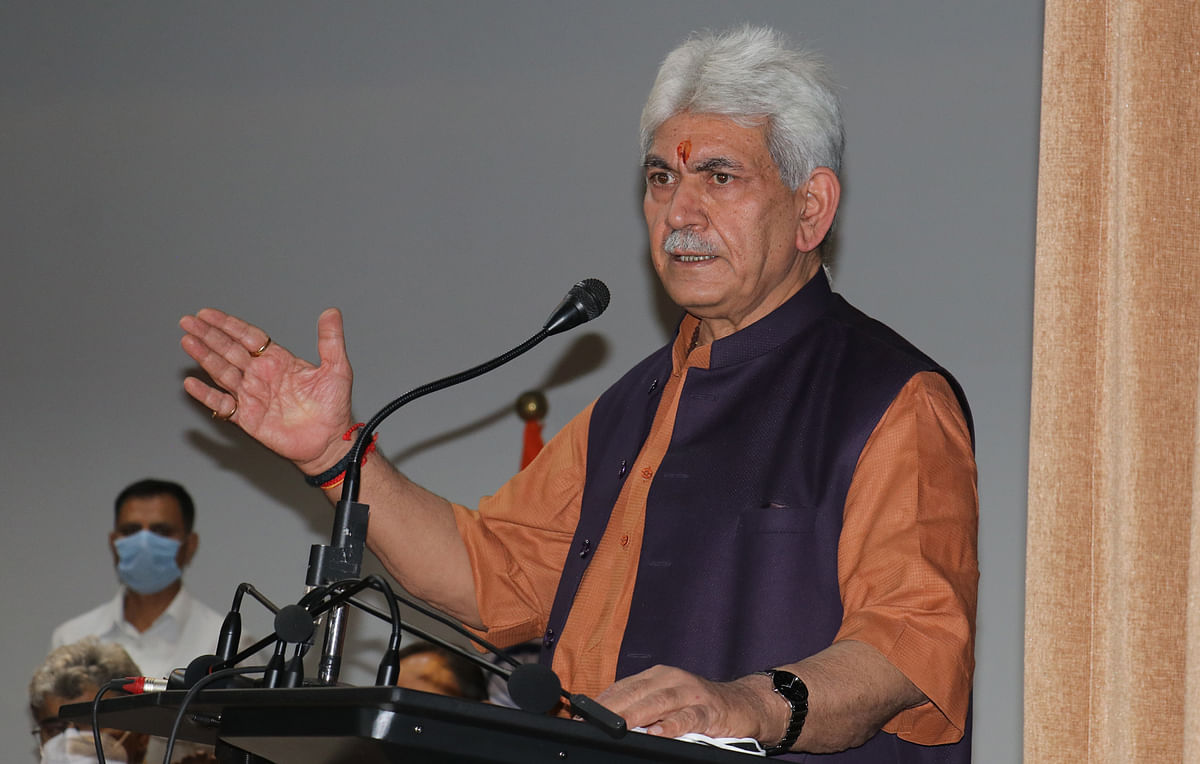 No outside forces can derail our mission of peace and progress: LG Manoj Sinha