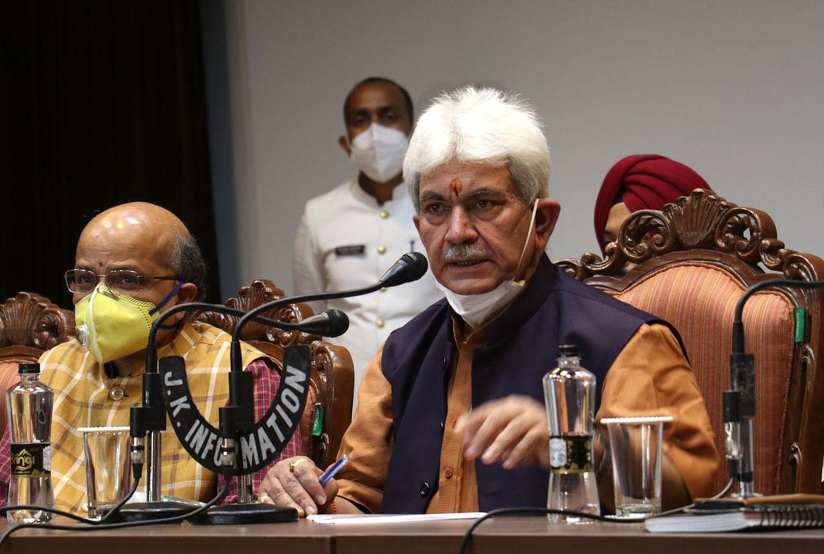 LG Manoj Sinha picks top IRTS officer Ranjan P Thakur for J&K industrial outreach