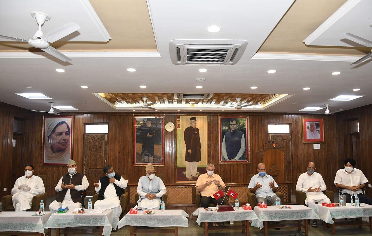 Omar chair meet of NC's north zone functionaries