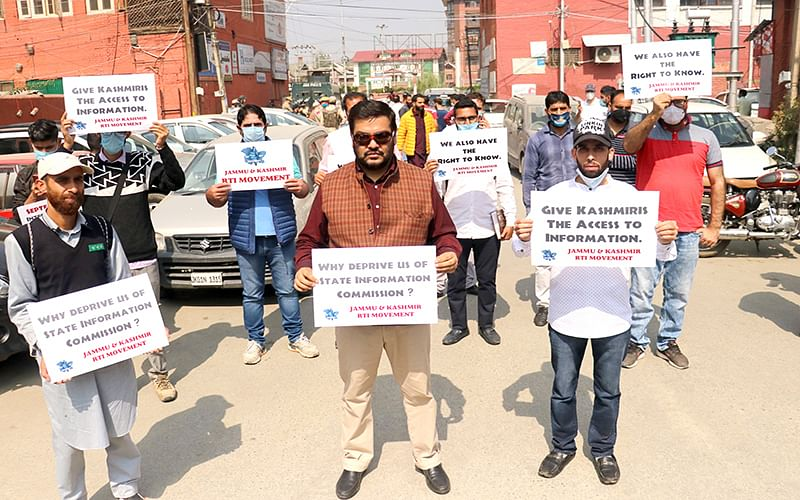 Int'l Day for Universal Access to Information RTI activists rue winding up of J&K Information Commission