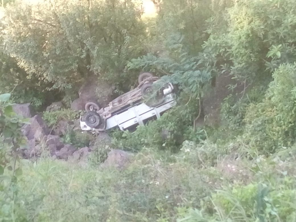 One dead, two injured in Reasi road accident