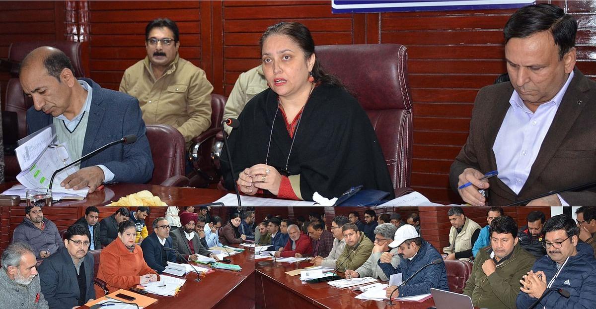 Secretary RDD chairs preparatory meeting of Back to Village III
