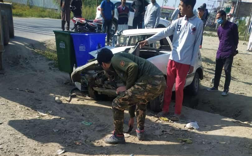 Police ASI injured in Sopore road accident, shifted to SKIMS Soura