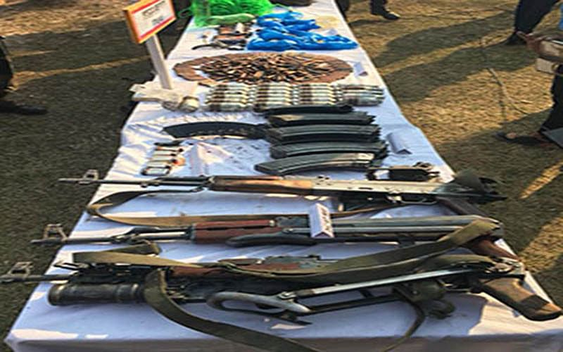 'Arms, ammunition recovered in Uri'