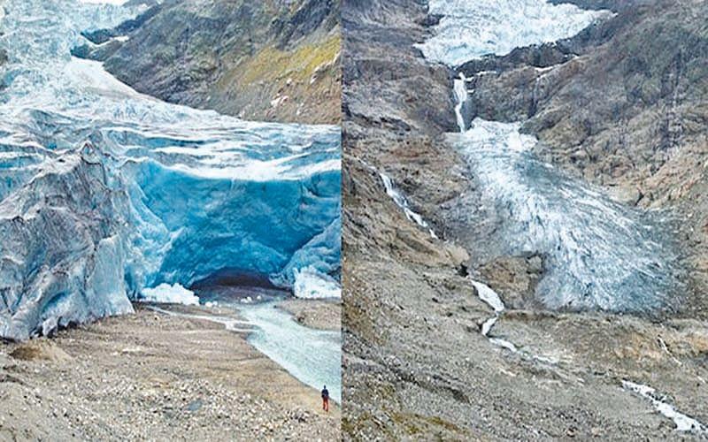 J&K glaciers melting at alarming rate: Study