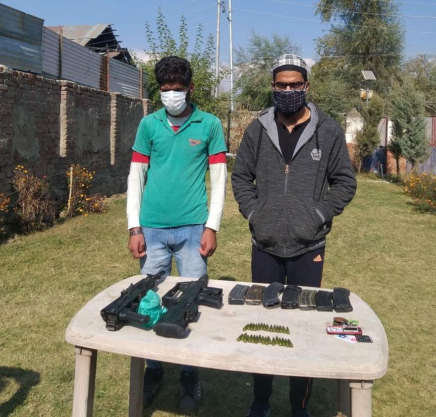 Two LeT militant associates held in north Kashmir's Handwara: Police