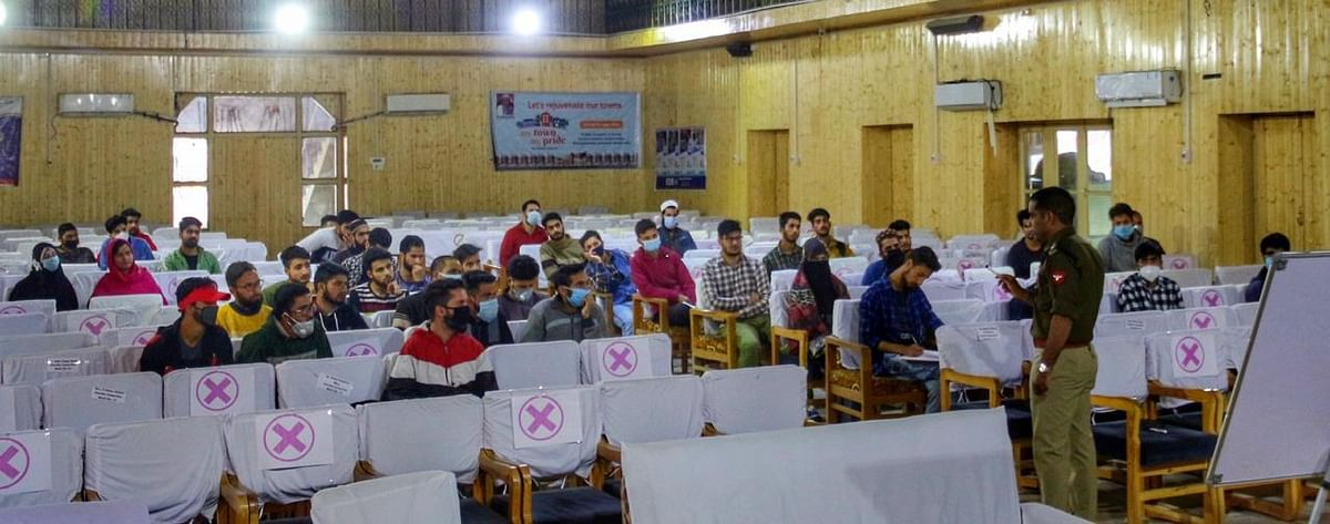 SSP Anantnag holds counselling session for youth
