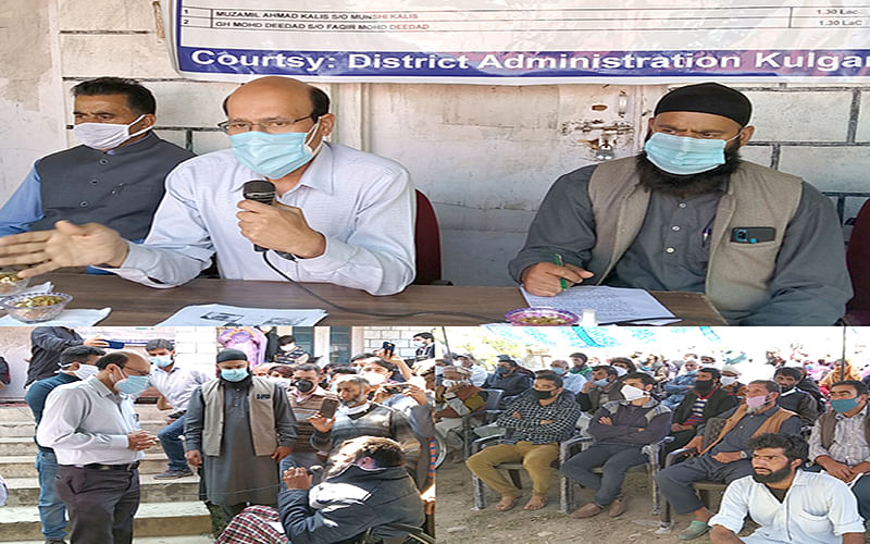 Visiting Officers reach out to people at 96 Panchayats in Kulgam