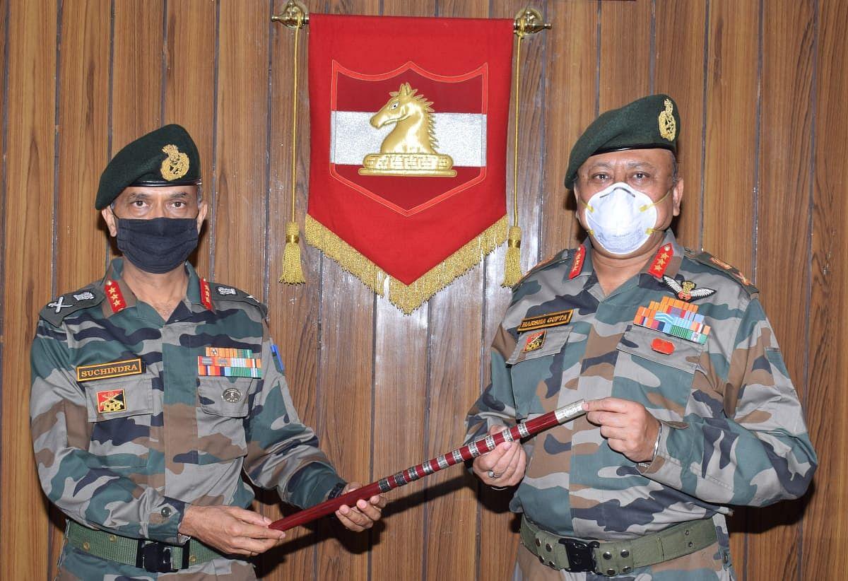 Lt Gen M V Suchindra Kumar assumes command of Jammu-based 16 Corps