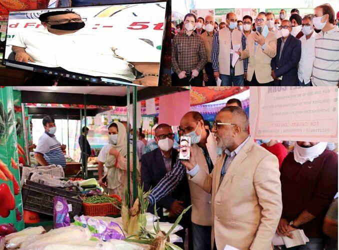 Navin e-inaugurates maiden organic vegetable sale centre