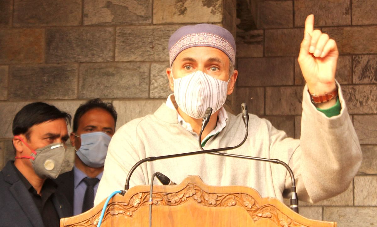 By calling us anti-national, do you want us to quit mainstream? Omar asks Centre