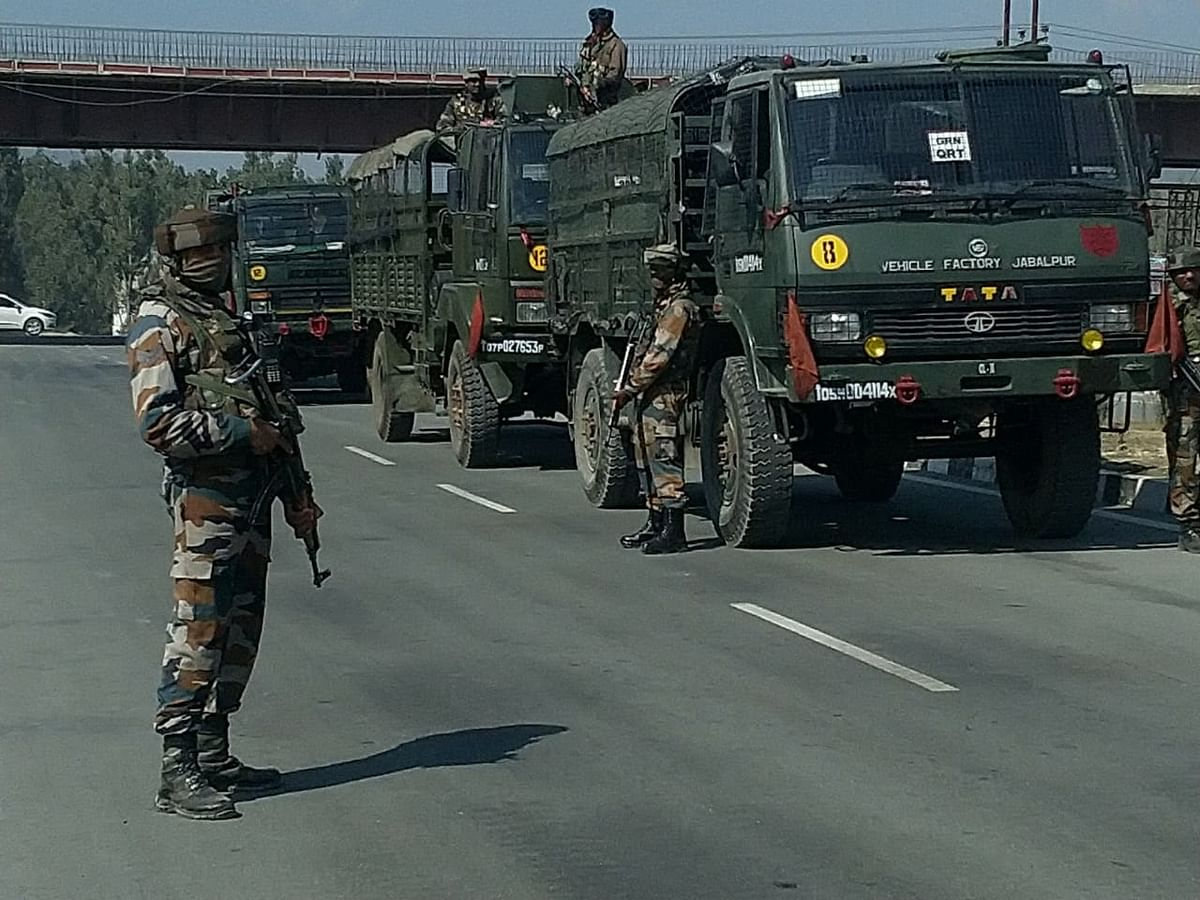 Gunfight breaks out in Pampore after militants attack CRPF party: Army