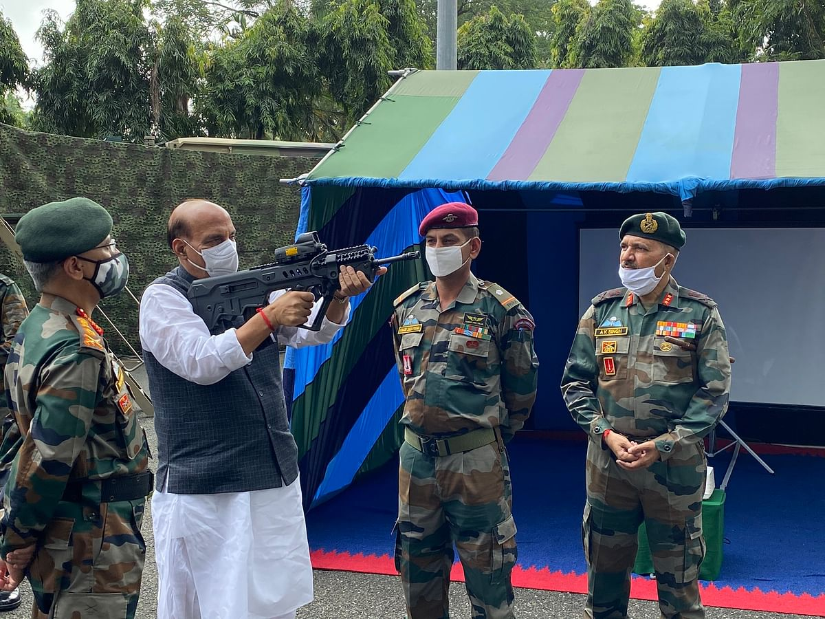 Prepared to defeat any misadventures to defend territorial integrity: Rajnath Singh