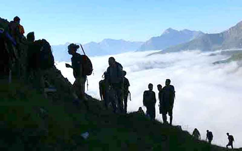 Hiking, Trekking expedition concludes in Bhadarwah