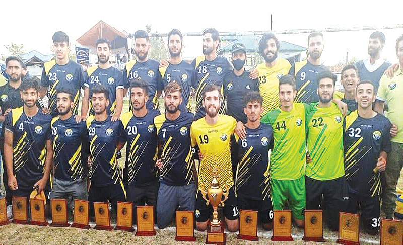 5th GMW Knockout Tournament | Real Kashmir FC lifts title