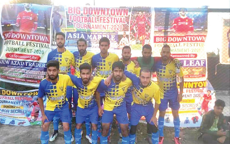 Downtown Football Festival|Court Road-XI beat Safaloo FC
