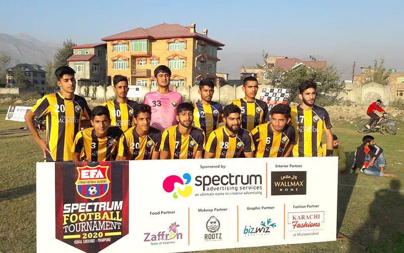 Spectrum Football Tourney Real Kashmir U-18 beat Parray Brothers 4-0