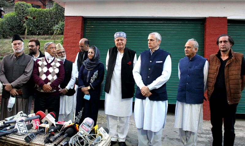 Kashmir political parties forge alliance to fight for Art 370