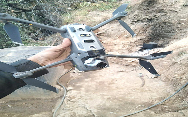Suspected drone movement in Mendhar|Security agencies on alert