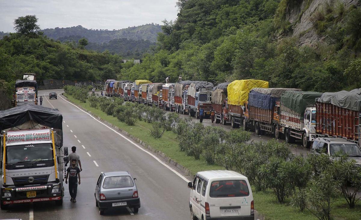 Traffic normal on Srinagar-Jammu highway