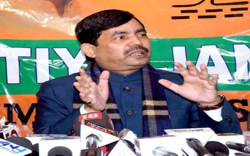 Shahnawaz asks local militants to shun violence