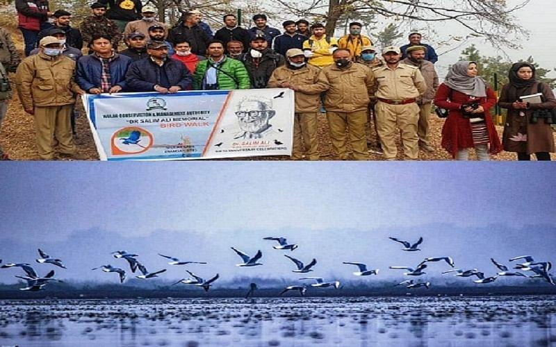 WUCMA organises 'bird walk' at Wular