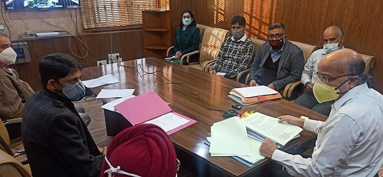 CS reviews status of sports infrastructure in J&K