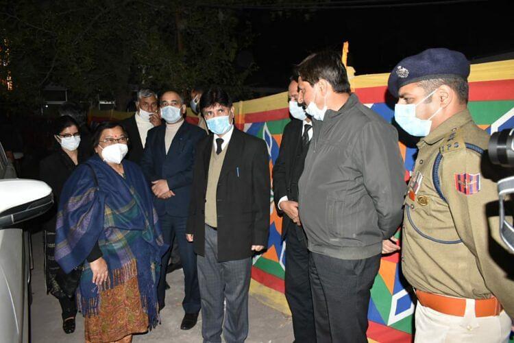 Chief Justice Mittal visits district court complex Rajouri