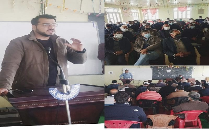 DDC polls: Training imparted to POs at Shopian