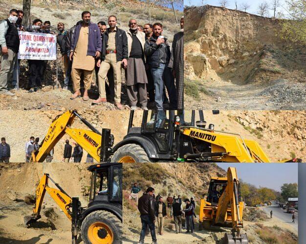 Admin launches drive against illegal mining in Kupwara