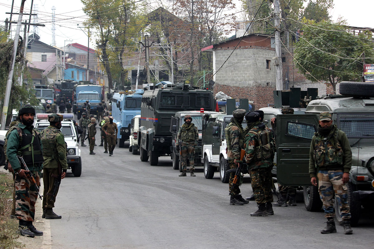 Two militants killed, one arrested in Mughal road gunfight in J&K's Poonch