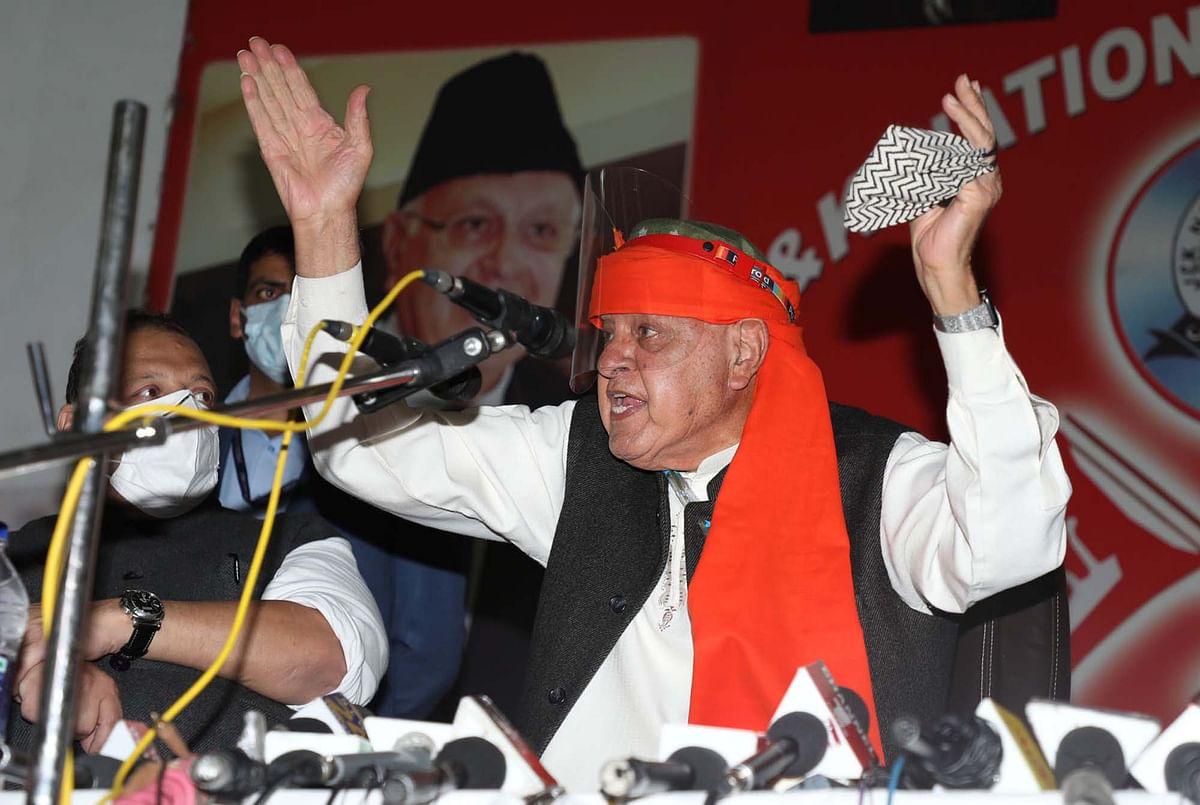 We are anti-BJP, not anti-India: Farooq Abdullah