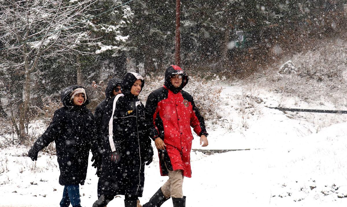 Snowfall unlocks Kashmir tourism