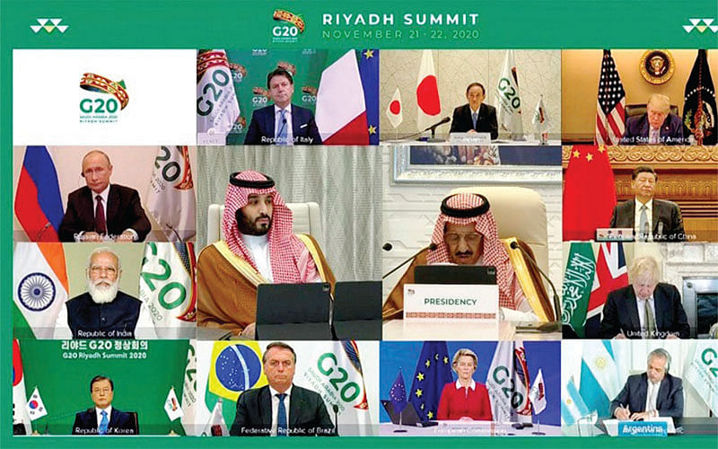 G 20: Co-ordinate global responses
