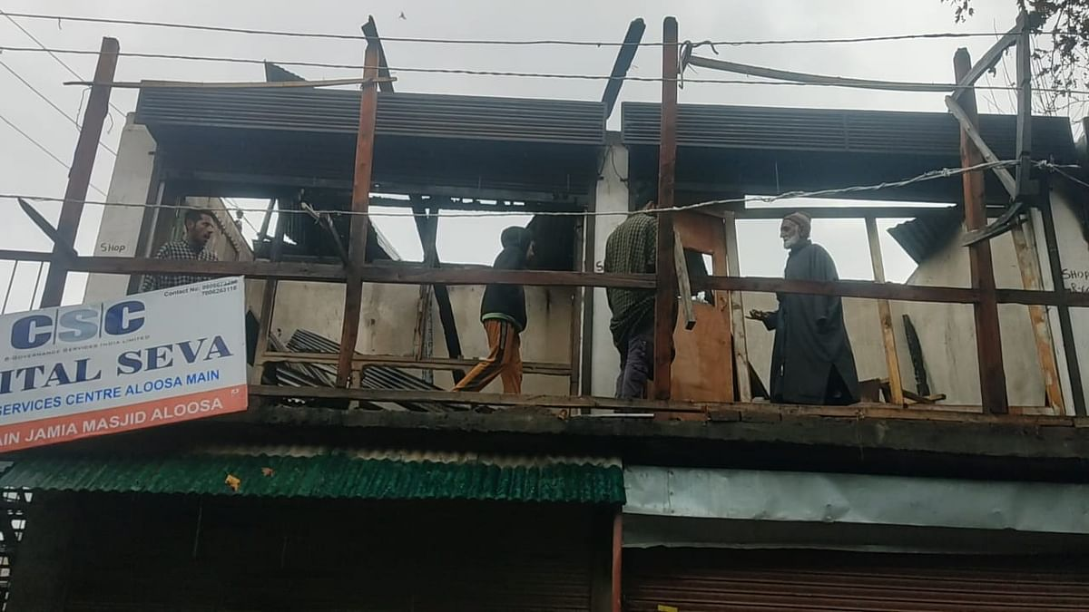 Auqaf complex in Bandipora village gutted